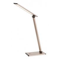 Lampa de birou LED, H:46cm, maro