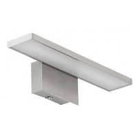Aplica oglinda LED Louise , L:25,5cm, nichel
