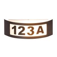 Aplica numar casa Innsbruck, L:32cm, IP44, auriu antic