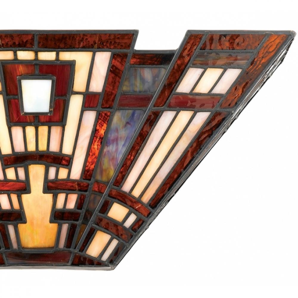 Aplica quoizel classic craftsman bronz l 41cm h 18cm for Craftsman classic