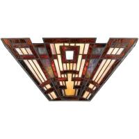 Aplica Quoizel Classic Craftsman, bronz, L:41cm, H:18cm, 2x60W-E14