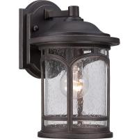Aplica exterior Quoizel Marblehead S, bronz, H:28cm, D:18cm, 1x75W-E27