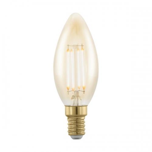 Bec E14-LED lumanare 4W ambra 1700K dimmabil cod 11698