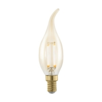 Bec E14-LED flacara 4W ambra 1700K nordic extra cald