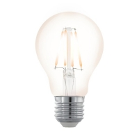 Bec E27-LED A60 4W transparent 2200K alb nordic extra cald