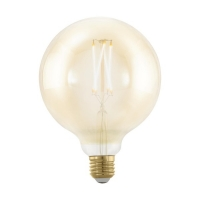 Bec E27-LED G125 4W ambra 1700K Golden Age