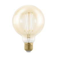 Bec E27-LED G95 4W ambra 1700K Golden Age, D:95mm