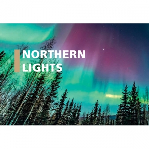 Bec E27-LED G95 4W transparent 2200K Northern Lights