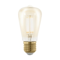 Bec E27-LED ST48 4W ambra 1700K Golden Age, dimabil