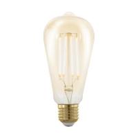 Bec E27-LED ST64 4W ambra 1700K Golden Age, dimabil