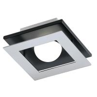 Aplica Bellamonte 1, crom/negru/alb, L:14cm, 1x5.4W-LED, 510 lumeni, aparent