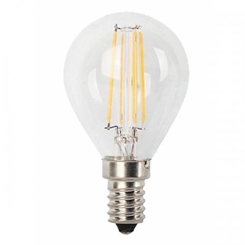 Bec LED filament sferic G45-E14-4W 450lm 2700K, lumina calda