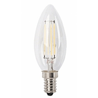 Bec LED filament lumanare E14-C35-4W 470lm 4000K, 1692, lumina neutra