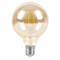 Bec E27-LED G95 6W 510 lm, 2700K-alb cald, 20.000 h, 1658