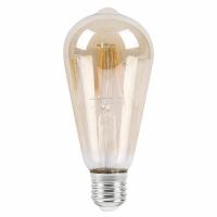 Bec filament E27-LED-ST58 6W 510 lm, 2700K-alb cald, 20.000 h, 1659