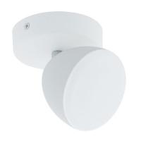 Spot Calvos 96595, alb, D:9,5cm, 1x6W-LED, 500lm, 3000K, lumina alba calda