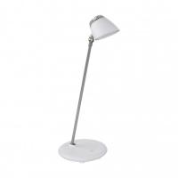Lampa de birou touch Capuana, alba, H:40cm, 4,8W-LED, 380 lumeni