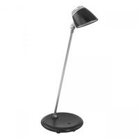 Lampa de birou touch Capuana, neagra, H:40cm, 4,8W-LED, 380 lumeni