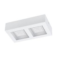 Plafoniera Ferreros 96792, alba, L:25cm, 2x6,3W-LED, lumina calda, 1680lm