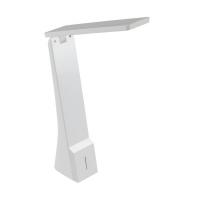 Lampa de birou touch La Seca 97044, alba, H:26cm, 1,2W-LED, 400 lumeni, cu acumulator
