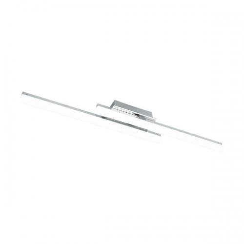Plafoniera Lapela 96409, crom, L:85,8cm, 2x10W-LED, lumina calda, 2600lm