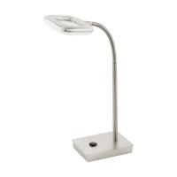 Lampa de birou Litago 97017, nichel, H:37cm, 1x4W-LED, 350 lumeni