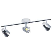 Spot Moncalvio 96836, alb/crom, L:58,5cm, 3x5W-GU10 LED, 1200lm, 3000K, lumina alba calda