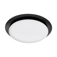 Plafoniera Obieda 96581, negru, D:36cm, 11W-LED, 950lm, 3000K, lumina alba calda