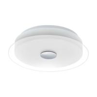 Plafoniera Parell 96432, alb/crom, D:34cm, 11,5W-LED, 1350lm, 3000K, lumina alba calda