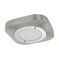 Plafoniera Puyo 96392, nichel, L:23cm, 11W-LED, 1200lm, 3000K, lumina alba calda