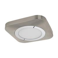 Plafoniera Puyo 96395, nichel, L:30cm, 16,5W-LED, 1600lm, 3000K, lumina alba calda