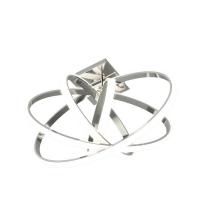 Plafoniera Selvina 96306, crom, L:46cm, 35W-LED, 3900lm, 3000K, lumina alba calda