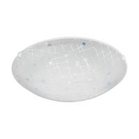 Plafoniera Vereda 96472, alba, D:31,5cm, 11W-LED, 950lm, 3000K, lumina alba calda
