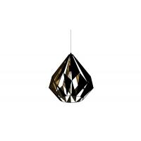 Pendul Carlton 1 49878, negru/cupru, D:38,5cm