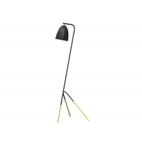 Lampadar Westlinton 49945, negru/cupru