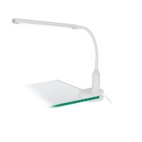 Lampa de birou touch Laroa 96434, alba, H:27,5cm, 4,5W-LED, 550lm, cu clips