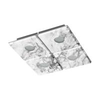 Plafoniera Aliste 96487, L:29cm, 4x5,4W-LED, 1680lm, finisata marmura