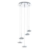 Suspensie Tarugo 1 96509, D:35cm, 5x4,5W-LED, 2250lm, H:110cm