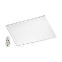 Panel LED inteligent Salobrena-C, 30x30cm, H:5cm, 16W-LED-RGB+Alb reglabil, 2000lm, patrat, alb