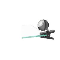 Lampa de birou Bimeda 96838, nichel negru, cu clips