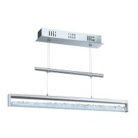 Suspensie LED Eglo Cardito 90928 30W LED ajustabila, cristale Asfour