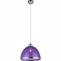 Pendul Carlo 15182, Globo, Violet, D:23cm