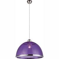 Pendul Carlo 151820, Globo, Violet, D:34cm