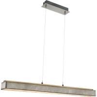 Suspensie Amy I 15188-18H, Globo, Argintiu, 18W-LED