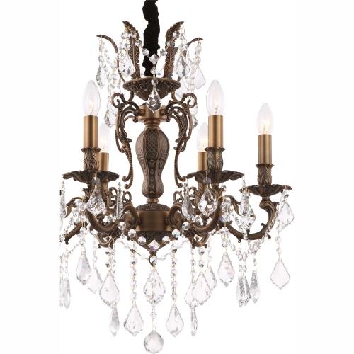 Lustra Candelabru Crown 64115-6, Globo