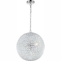 Pendul Emilia 67010-5HLED, Globo, iluminat LED, alb cald