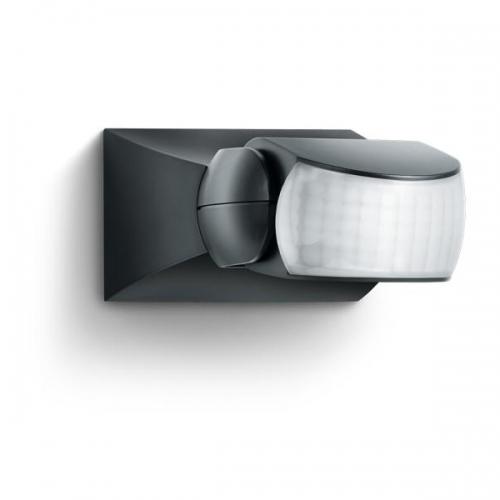 Senzor de miscare infrarosu 120° IP54 negru