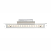 Plafoniera 8W-LED lunga de 40W, Liguria 67804-8D Globo