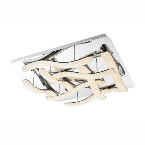 Plafoniera LED de design cu 8 benzi ondulate Nabro 67833-96 Globo