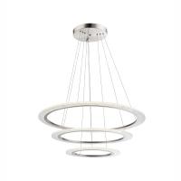 Suspensie LED cu 3 cercuri concentrice reglabile Klaus 68193H1 Globo